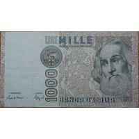 Италия 1000 лир 1982г.
