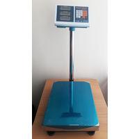 Торговые напольные весы до 600 кг с платформой 45*60