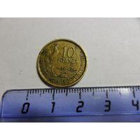 Франция 10 франков 1952 г.