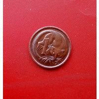 93-22 Австралия, 1 цент 1981 г.
