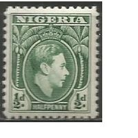 Нигерия. Король Георг VI. 1938г. Mi#46.