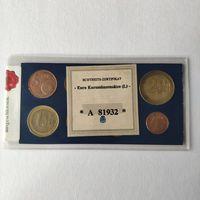 Люксембург набор из 8 монет евро 2002