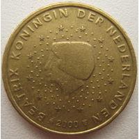 Нидерланды 10 евроцентов 2000 г.