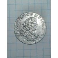6 грошей Фридрих (Пруссия) 1686г.