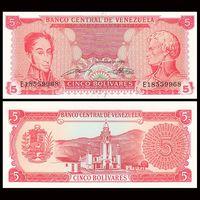 Боливарес 1989 год Венесуэла UNC с рубля
