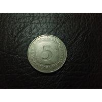 "5 марок 1978 ""J"" - Гамбург"
