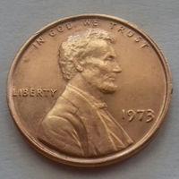 1 цент США 1973 г.