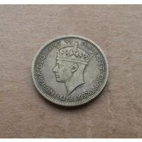 Британская Западная Африка, 1 шиллинг 1943 г., Георг VI (1936-1952)