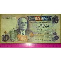 Тунис 10 динар 1973г