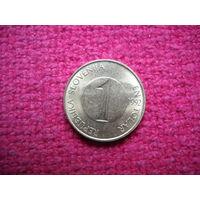 Словения 1 толар 1992 г. :