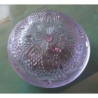 Шкатулка Богемское стекло