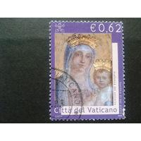 Ватикан 2002 дева Мария , фреска