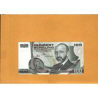 Австрия  100 шиллингов  1984г. унс