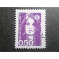 Франция 1990 стандарт 0,50