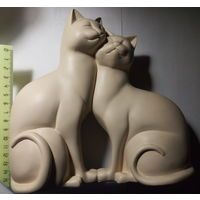 Кошки. Дуэт. Фигурка