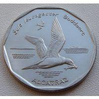 "Кабо-Верде. 20 эскудо 1994 год KM#30  ""Птицы - Бурая олуша (sula leucogaster)"""