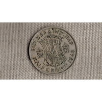 Великобритания 1/2 кроны 1948 /Georg VI/(JN)