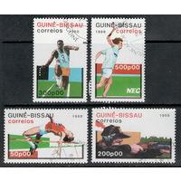 Гвинея-Бисау /1988/ Спорт / Легкая Атлетика / 4 марки