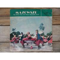Mazowsze - Polish Song and Dance Ensemble, vol. 4 - Muza, Польша - XL 0189 - 1964 г.