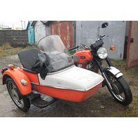 "Мотоцикл с коляской ""ИЖ Юпитер-4"". 1981 г.в. Имеется технический паспорт."