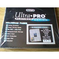 Упаковка листов для хранения карточек Ultra-Pro Platinum (3х3) на 11 отверстий