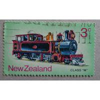 Новая Зеландия.Паровоз