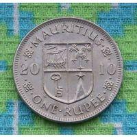 Маврикий 1 рупия 2010 года. Подписывайтесь! Много новых лотов в продаже!!!