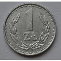 Польша 1 злотый, 1985 г.