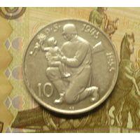 Чехословакия 10 крон 1955 г