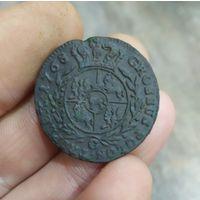 Красивые 3 гроша 1768