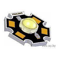 1 Вт. КРАСНЫЙ ((цена за 3 шт)) мощный светодиод. PROLIGHT. PG1C-1LRS