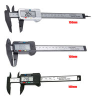 Цифровой, Электронный штангенциркуль 100 мм.,  Микрометр, цифровая линейка, измерительный инструмент . распродажа.