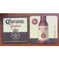 Подставка под пиво Corona No 6 /Мексика/