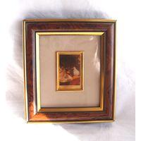 Литография на золотой фольге Клод Моне Claude Monet 2