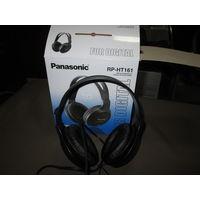 С 1 рубля.Наушники Panasonic RP-HT161 XBS.Новые.