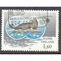 Финляндия Европа-Септ 1986 год фауна