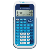 Научный калькулятор Texas Instruments TI-34 MultiView