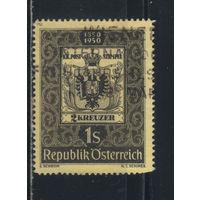 Австрия Респ 1950 100 летие австрийской марки #950