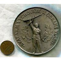 Настольная медаль Чехословакия