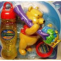 Игрушки  выдувающие мыльные  пузыри Винни Пух( GAZILLION)