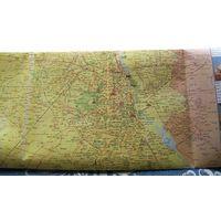 Карта Индийский город. Зарубежная картография