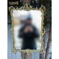 Зеркало в Бронзовой Рамке Рококо, Европа. Середина ХХ века