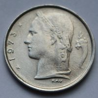 Бельгия, 1 франк 1973 г. 'BELGIQUE'