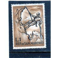 Сан-Марино. Mi:SM 729. Альпинизм. 1962.