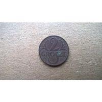 Польша 2 гроша, 1923г. (а-3)