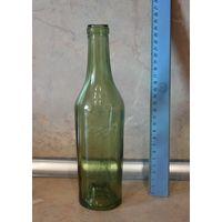 Бутылка винная времен Второй мировой войны. Объем 0,35 л.