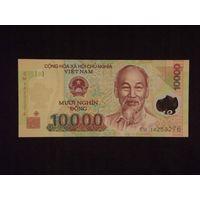 Вьетнам, 10000 донгов 2014 год, полимер,  UNC