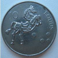 Словения 10 толаров 2004 г.