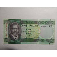 Южный Судан 1 фунт 2011г UNC
