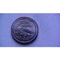 США 25 центов 2013г GREAT BASIN (P)  распродажа